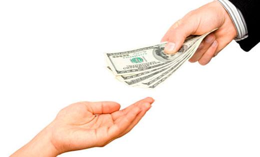 Отдаем деньги правильно