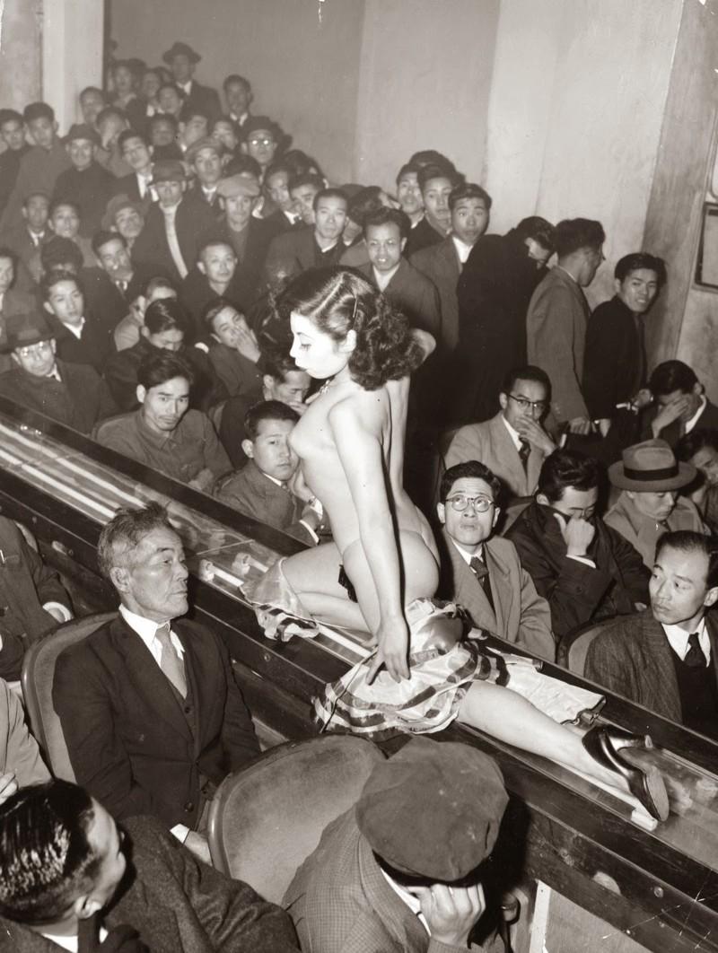 7. Танцовщица, Токио, 1957 женщины из прошлого, история, фото