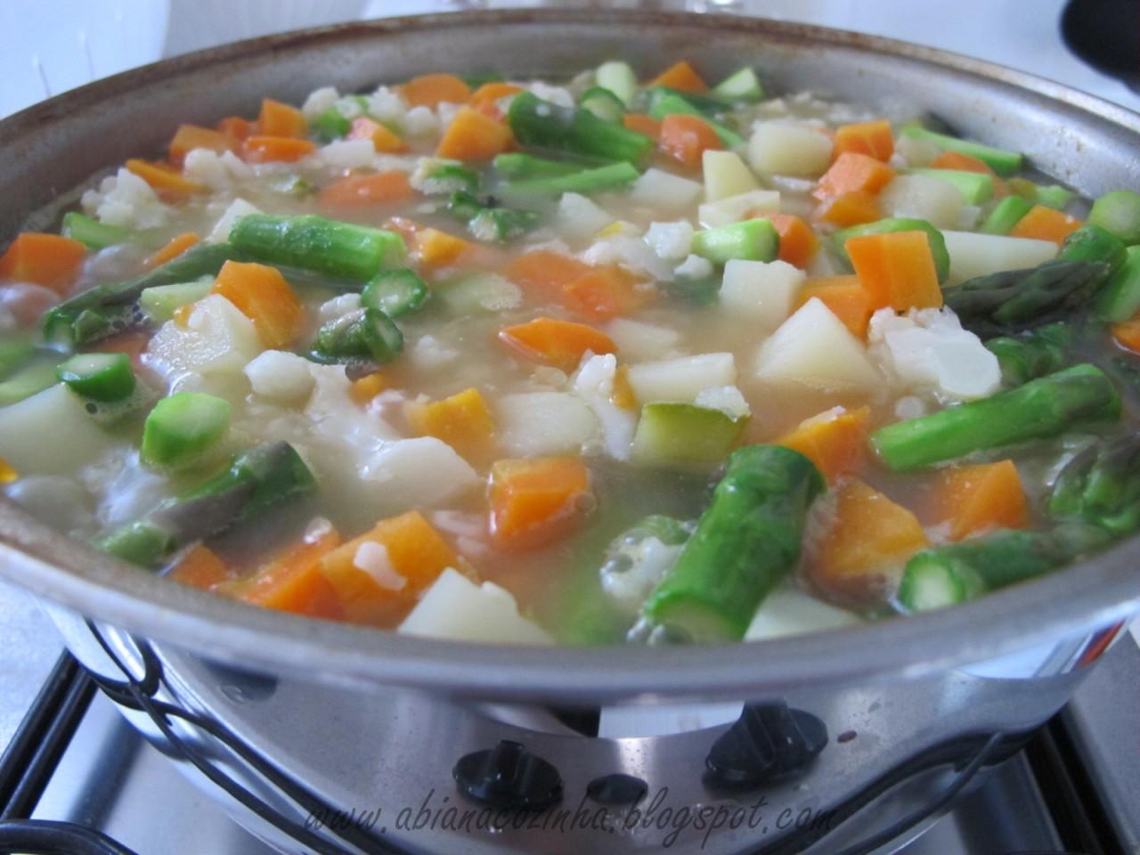 Бразильский овощной суп