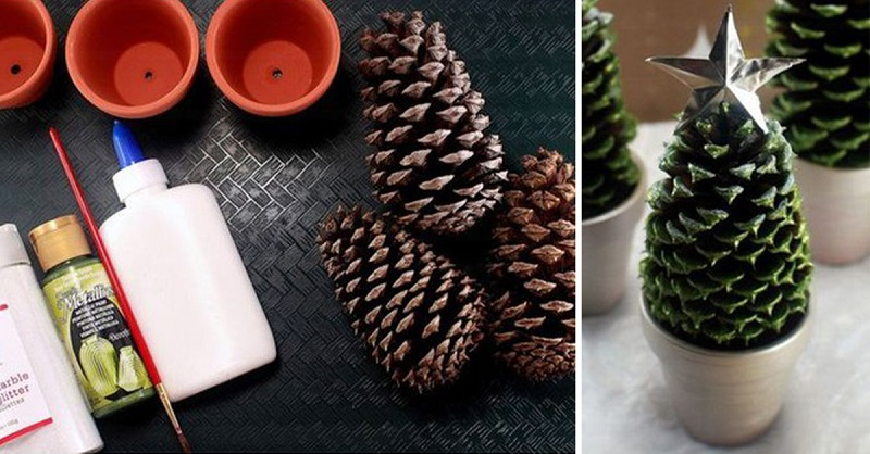 Новогодние декор дома своими руками: 3 простые и быстрые идеи
