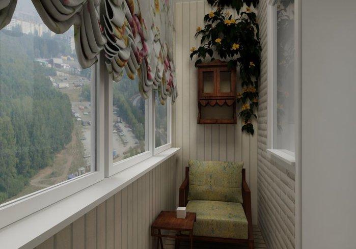 Проекты отделки хрущевских балконов.