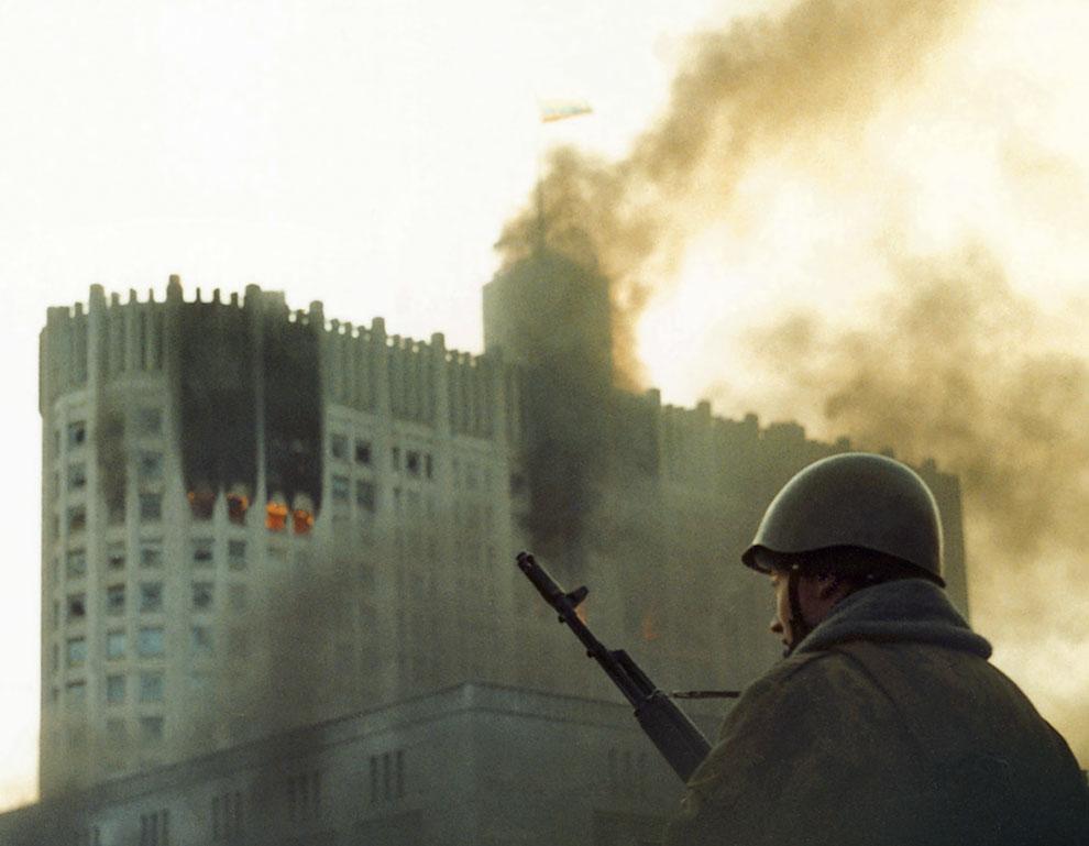 Расстрел Дома Советов 4 октября 1993 года