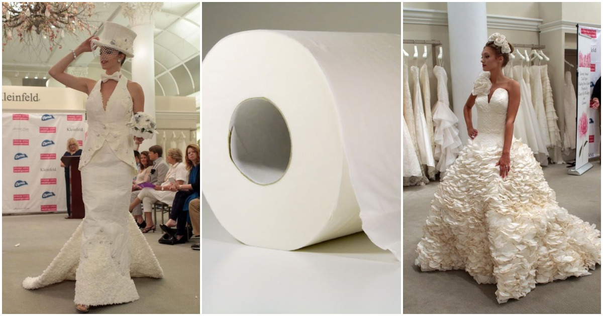 Ежегодный конкурс бюджетных и шикарных свадебных платьев прошёл под новым, неожиданным и даже странноватым лозунгом