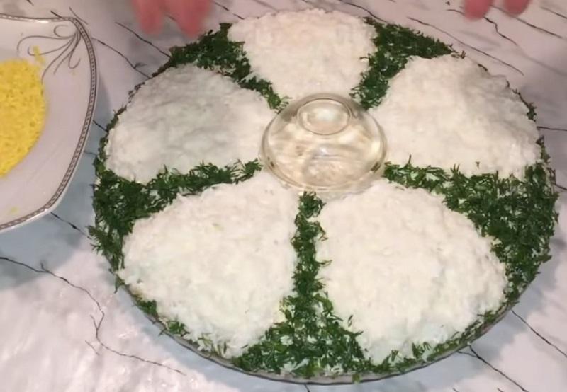 салат ромашка ингредиенты