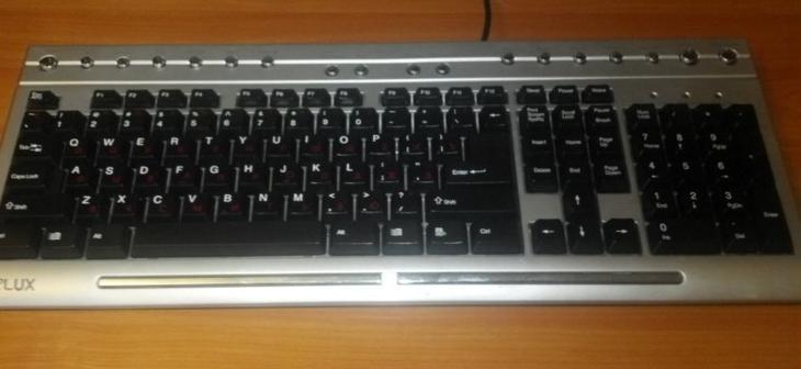 Чистка клавиатуры ПК дома