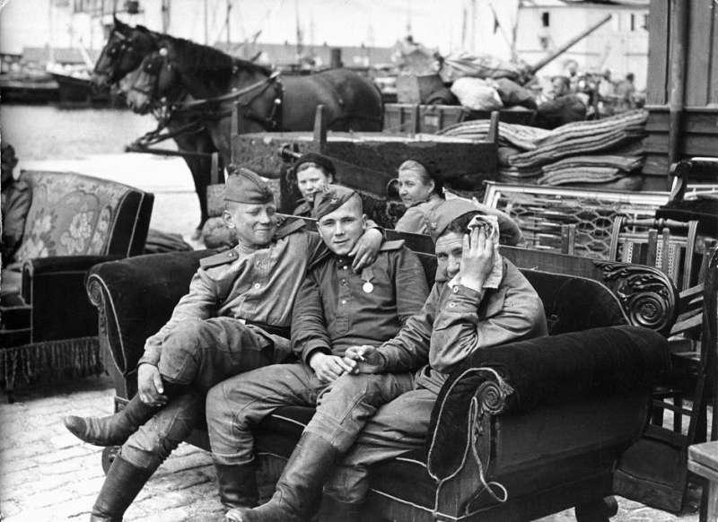 Советские войска в Дании