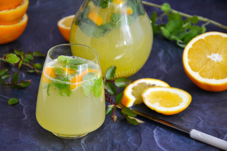 Безалкогольные напитки. Апельсиновый фреш