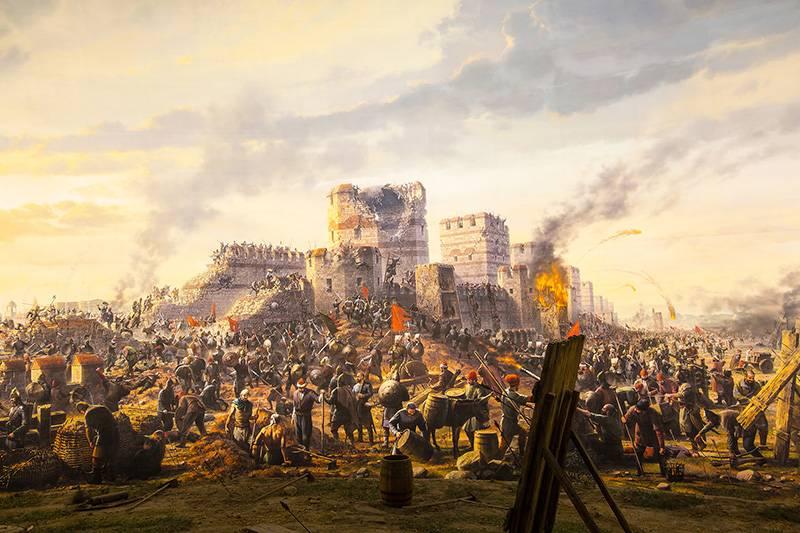 Греческий проект как попытка России сокрушить Османскую империю