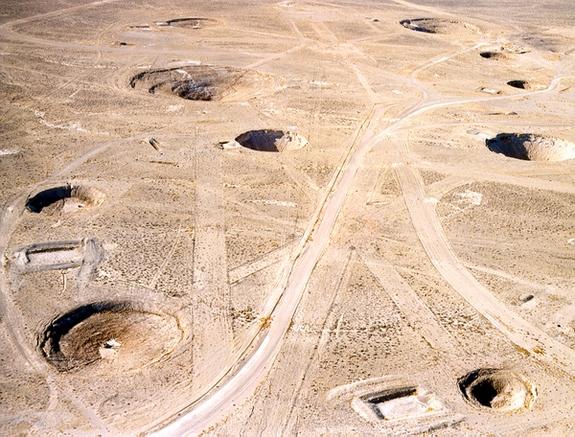Как выглядит ядерный полигон в Семипалатинске