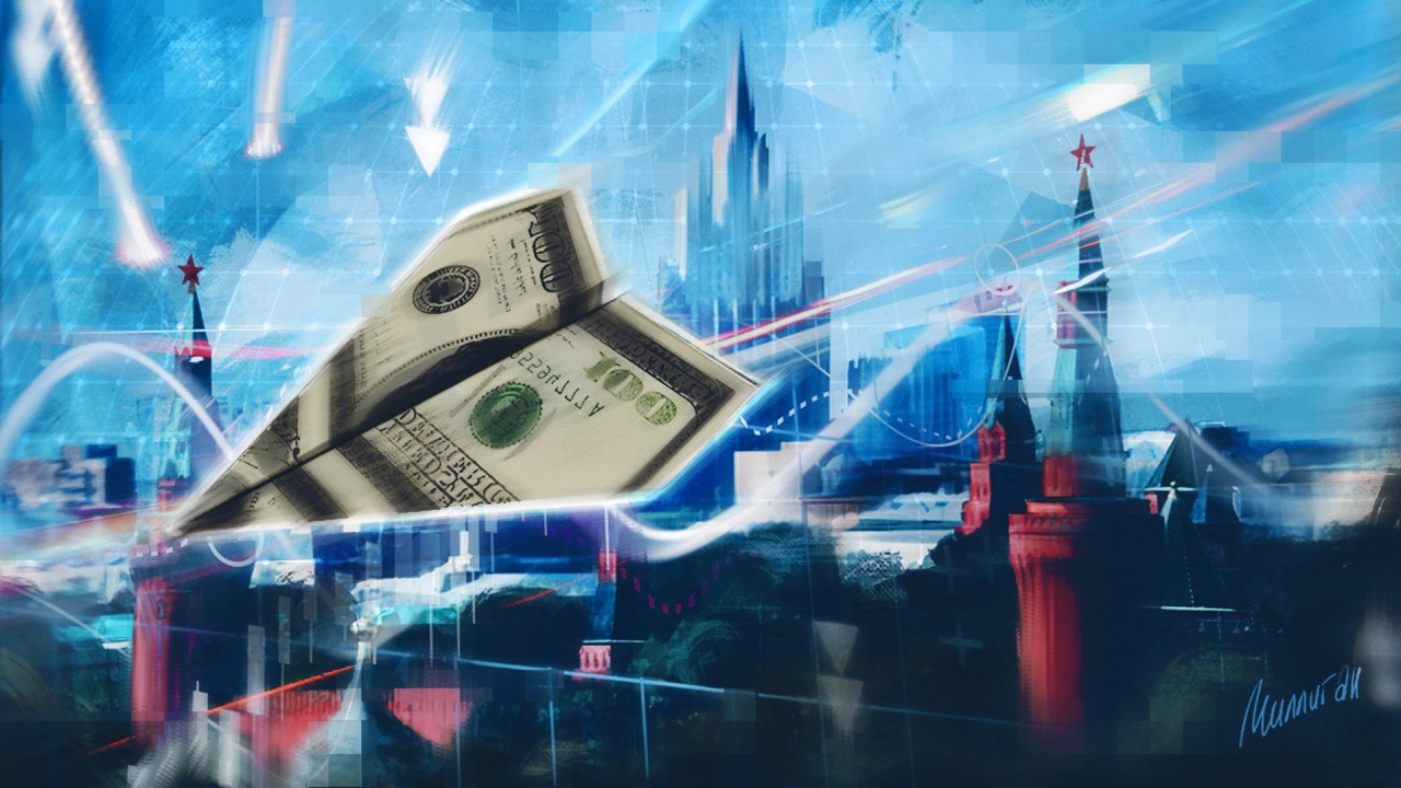 Россияне помогают «закапывать» доллар: в банках растут вклады в рублях