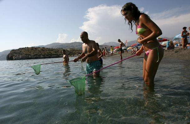были на рыбалке в тунисе