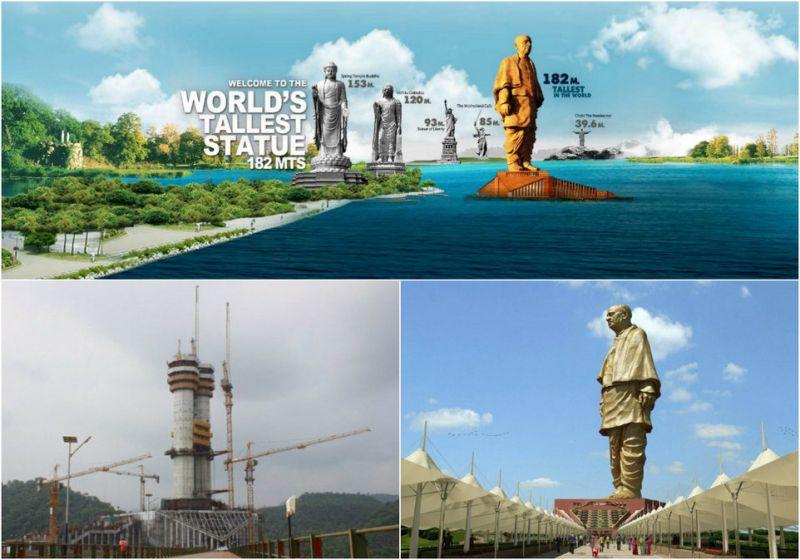 В Индии ведется строительство самой высокой статуи в мире