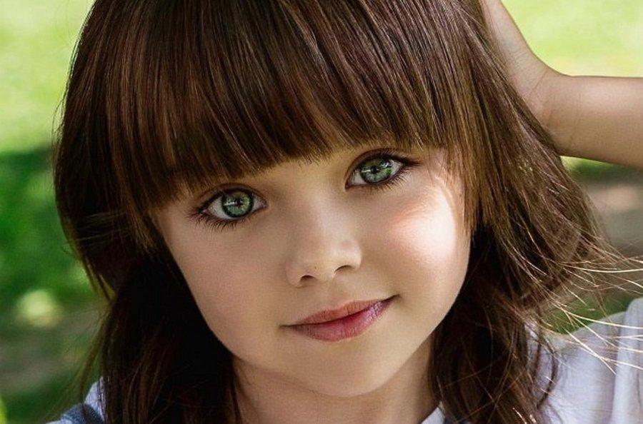 Самая красивая девочка мира …