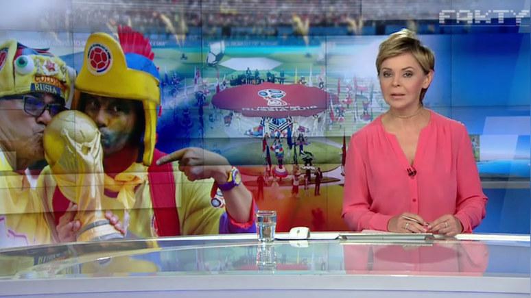 TVN24: футбольный мяч на Красной площади смотрится лучше, чем военные парады