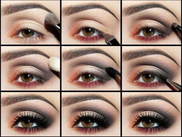 Как сделать себе макияж в домашних условиях 512