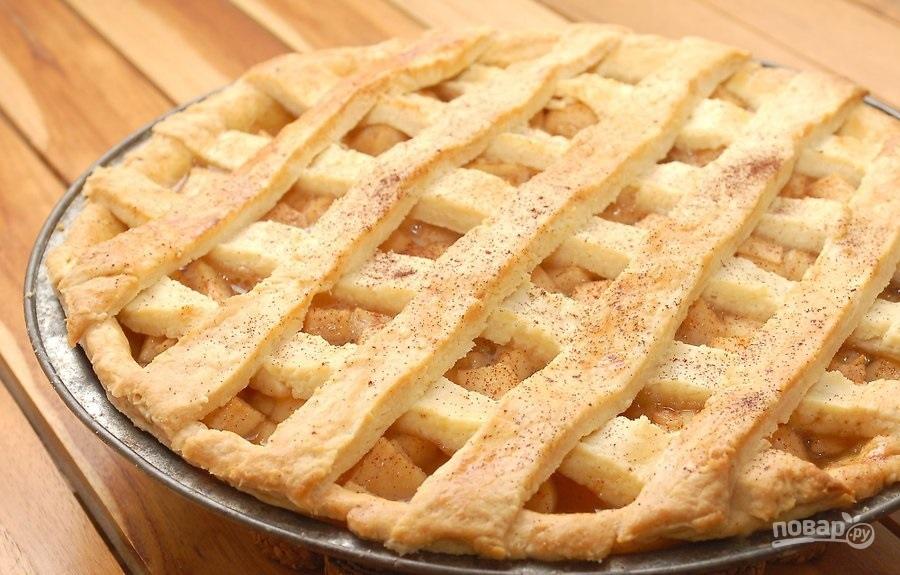 Простой рецепт яблочного пирога