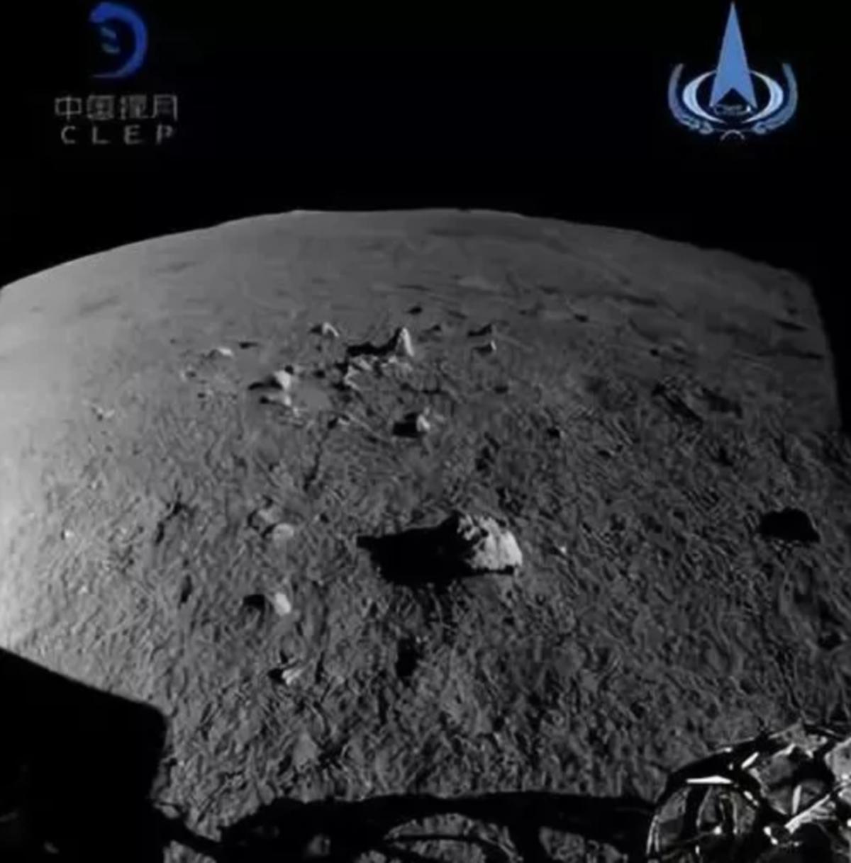 Китайский луноход «Юйту-2» впервые проехался по Луне