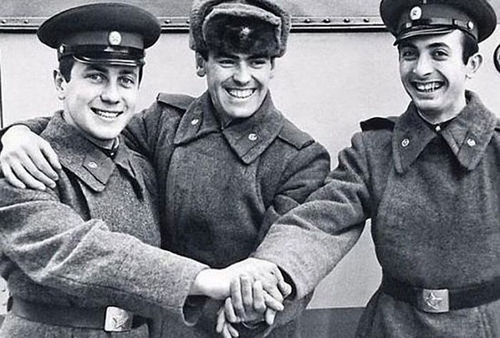 Владимир Винокур армия, знаменитости, фото