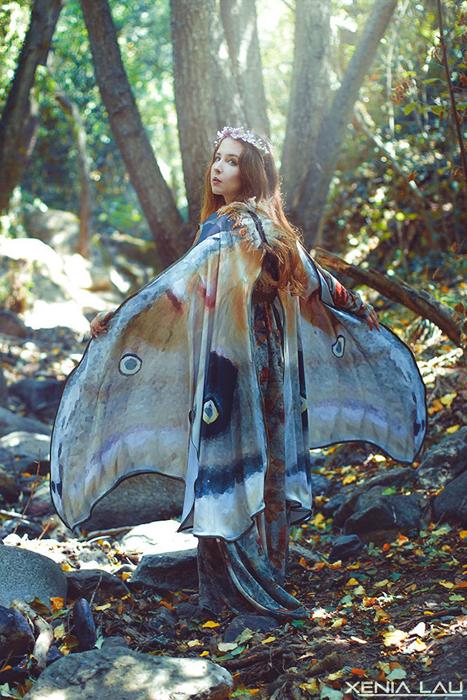 Такие палантины способны превратить любую девушку в волшебную фею.