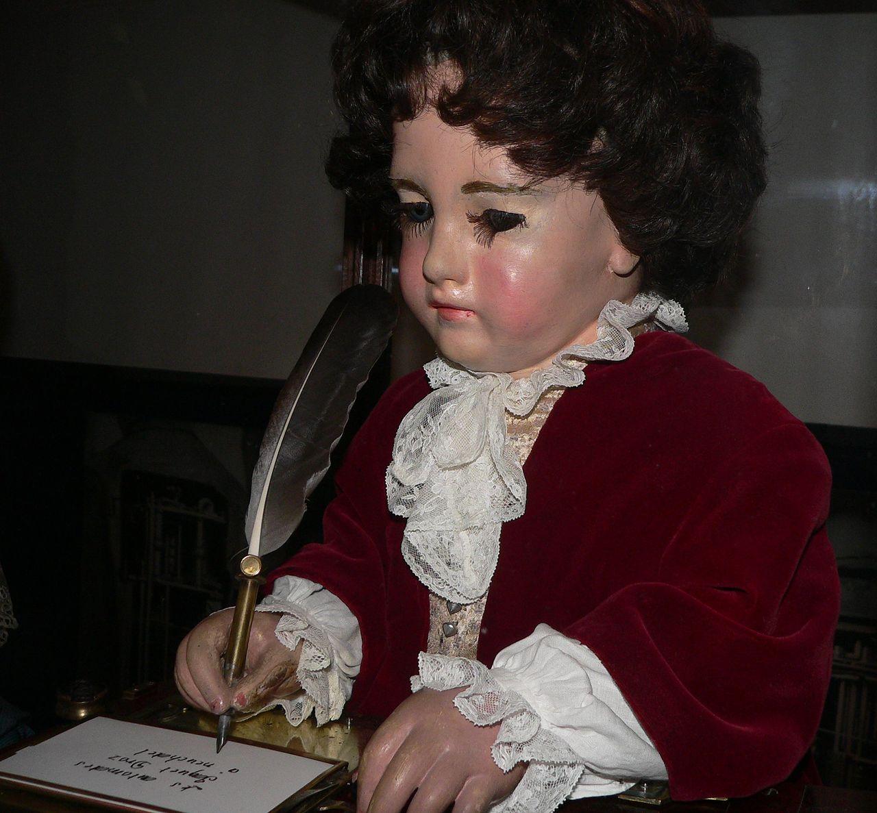 Пьер Жаке-Дро и его куклы-автоматоны.
