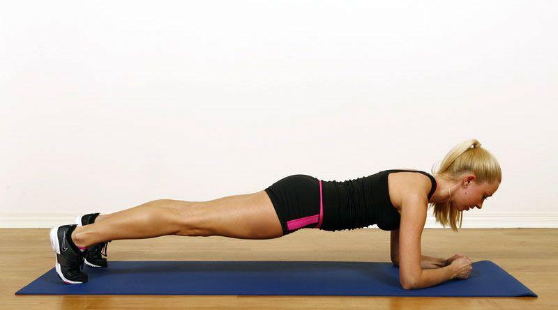 Наука объясняет, что происходит с вашим телом, когда вы ежедневно выполняете планки