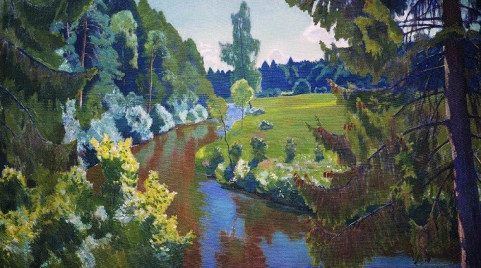 пейзажи художник Аркадий Рылов - 06