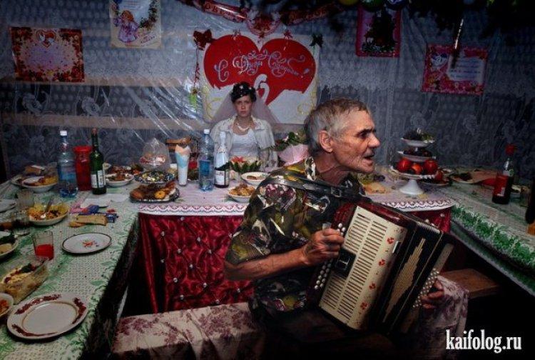 45 фотографий о неповторимом шарме провинциальной свадьбы