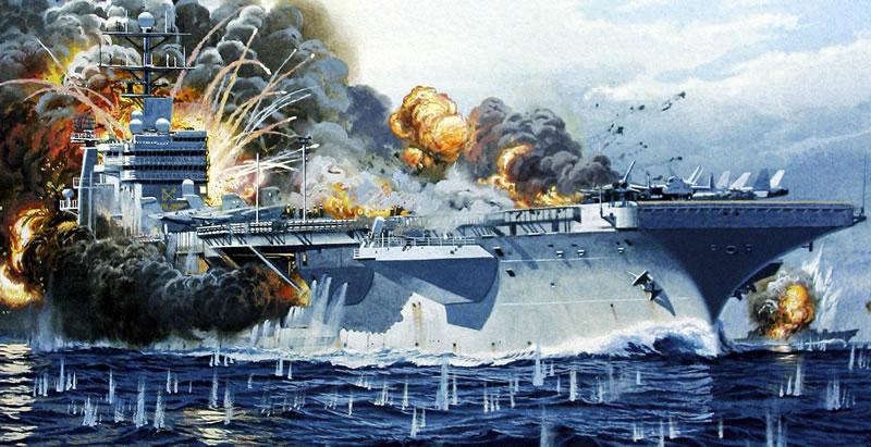 Американские офицеры впечатлились: одного «Кинжала» хватит, чтобы располовинить авианосец США