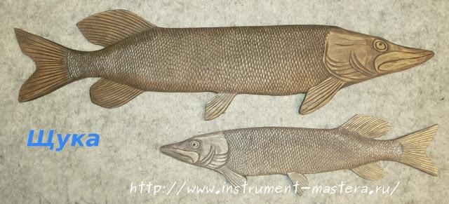 Резные деревянные панно для домика рыбака