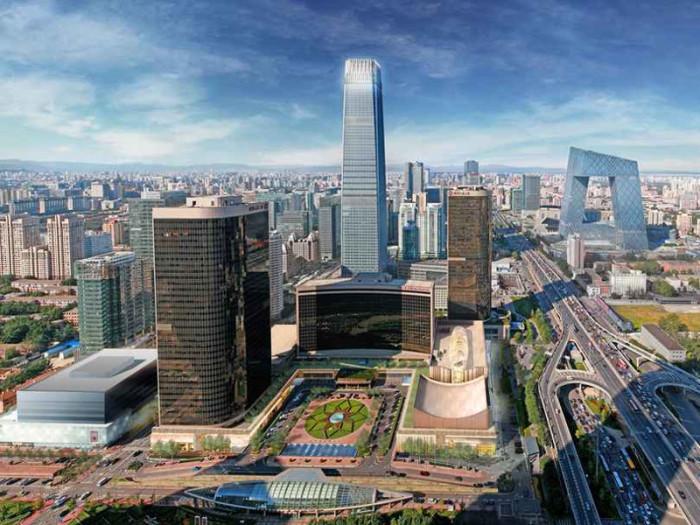 Современный мегаполис впечатляющий широкими, прямыми как стрела бульварами и громоздкими постройками соответствующими размерам города.