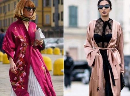 Альтернатива классическому тренчу — накидка-кимоно. Пока еще не осень!