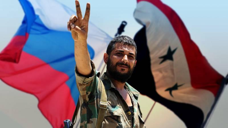 В Сирии восхищаются мужеством русских