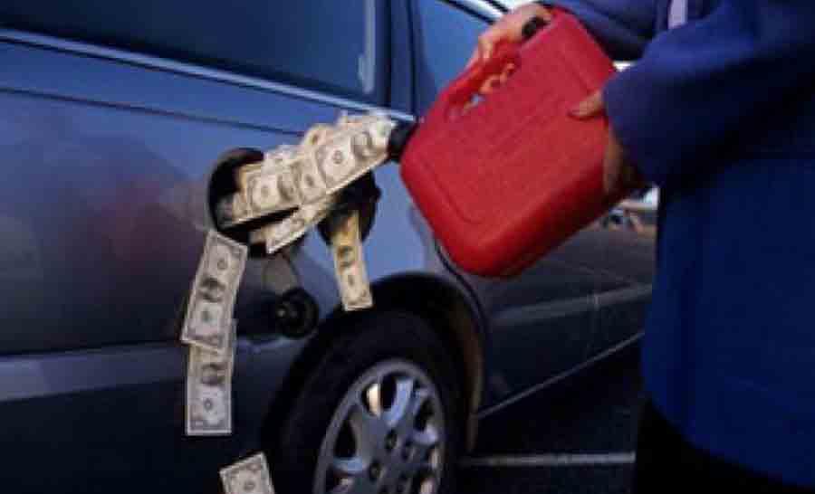 О реальной цене на бензин