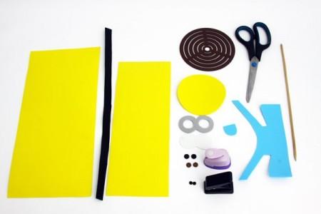 готовые шаблоны для склейки карандашницы в стиле миньон