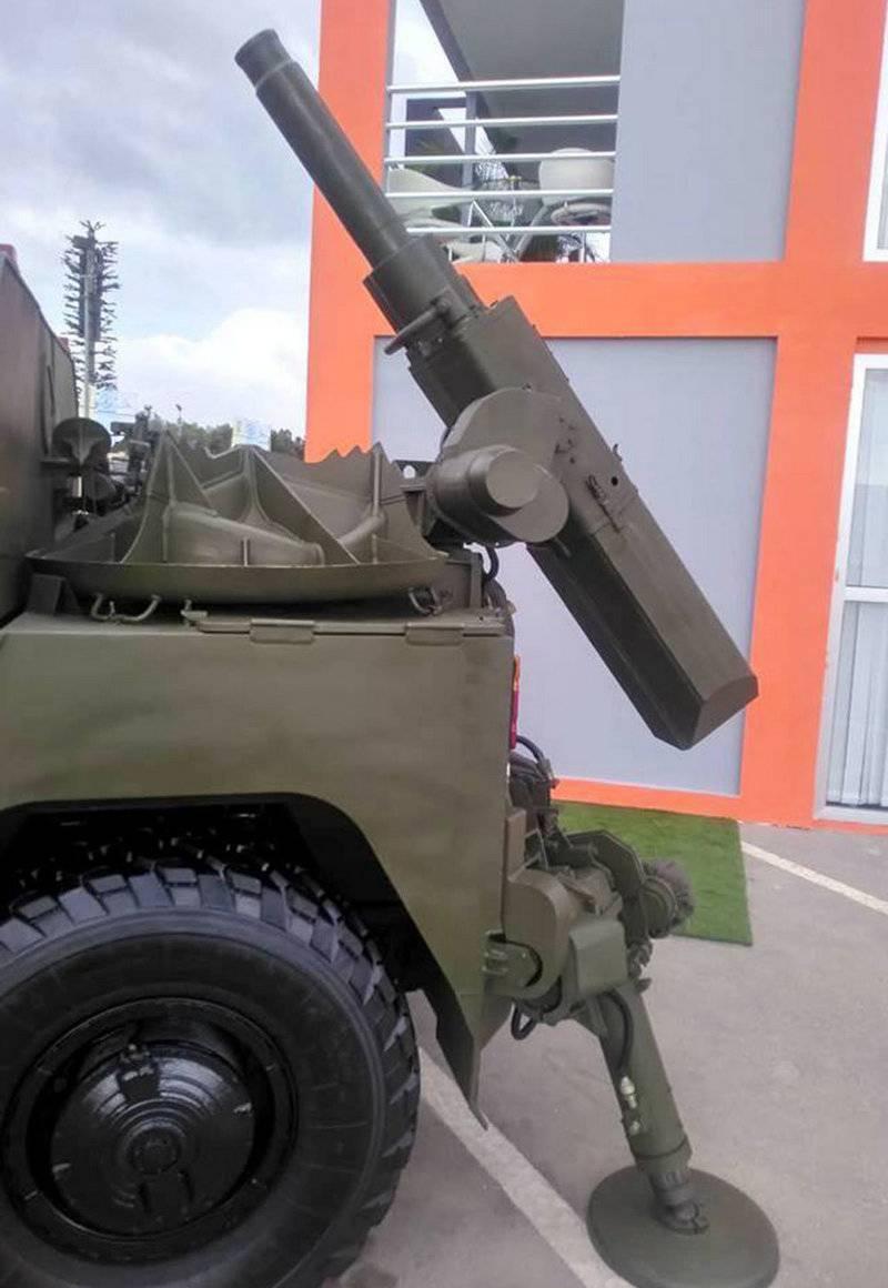 """Сани на Тигре. Российская """"ВПК"""" представила бронемашину с миномётом"""