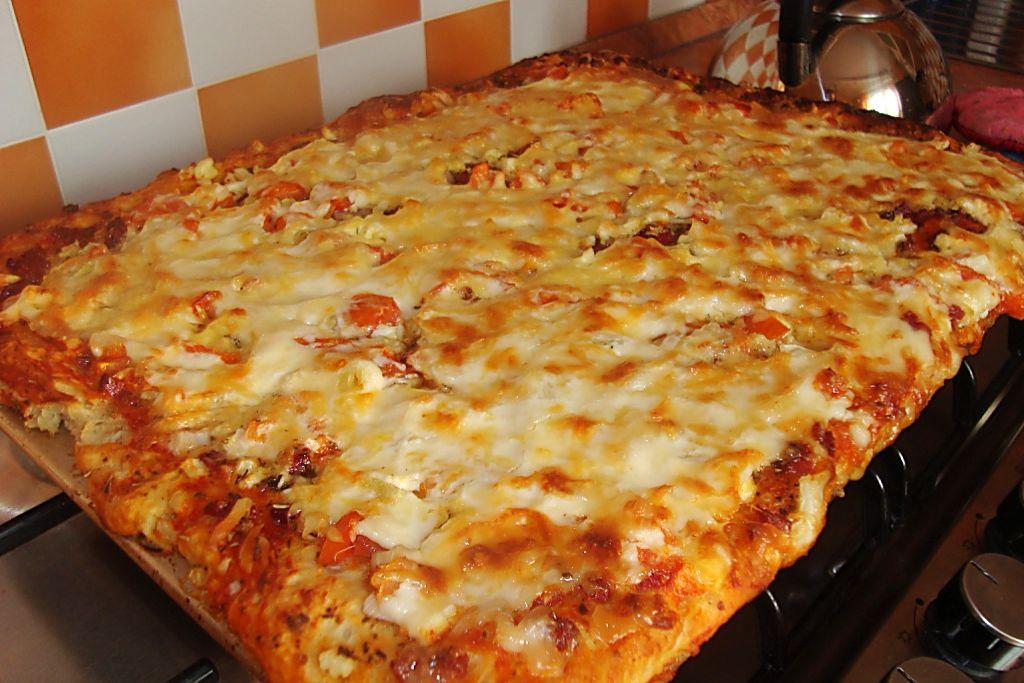 Самая простая пицца - быстро и вкусно!