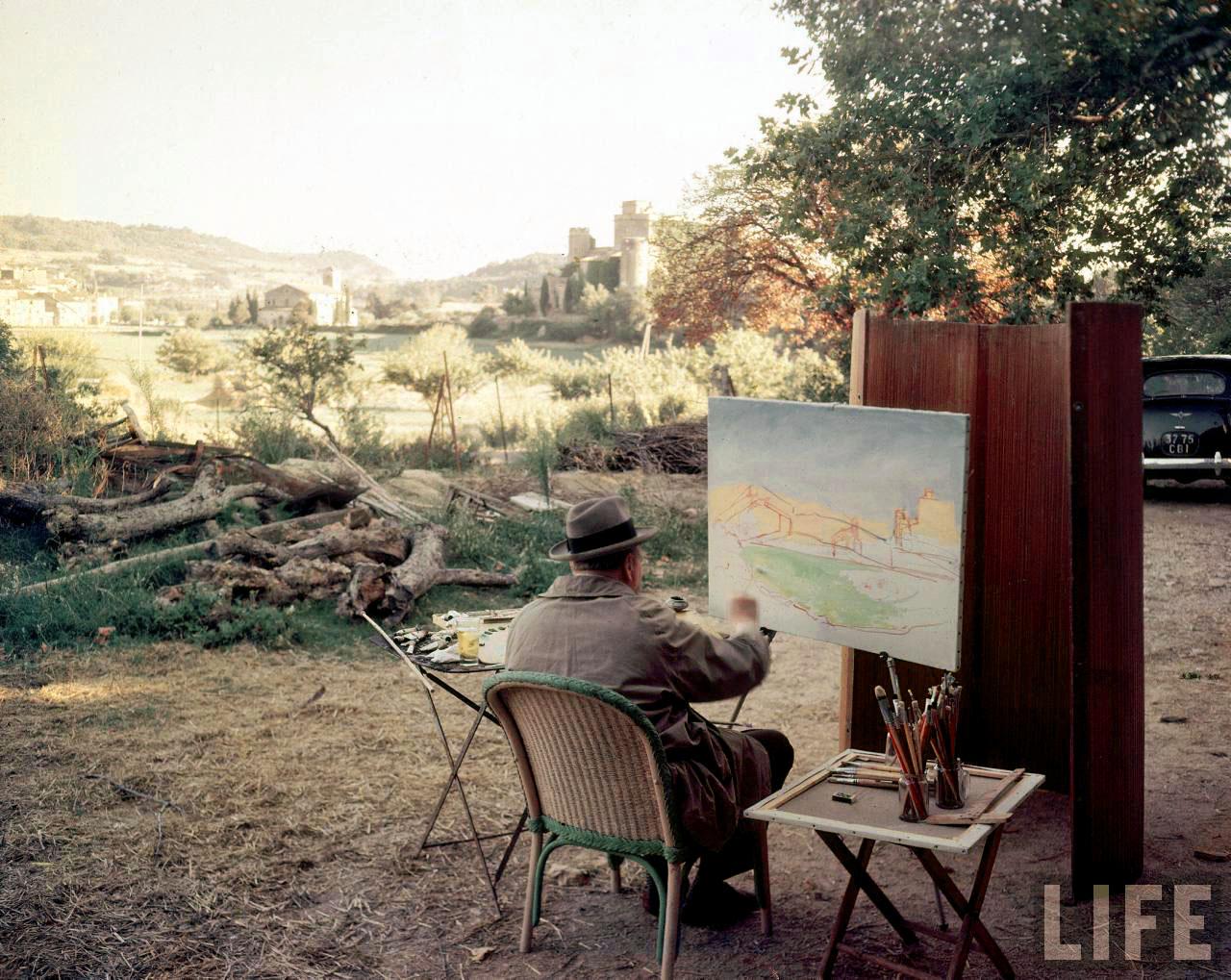Уинстон Черчилль - художник