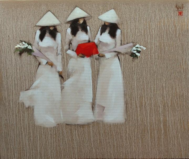 Придёшь ты, как утро… Вьетнамский художник-минималист Nguyen Thanh Binh