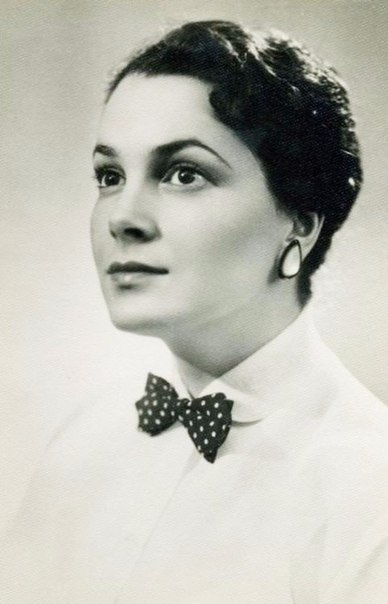 Советская актриса Элина Быстрицкая