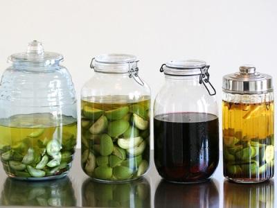 Настойка на водке из зеленых грецких орехов