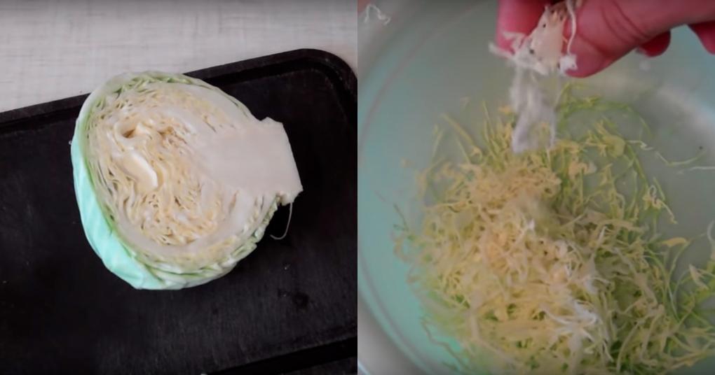 Быстрый и простой способ нашинковать капусту