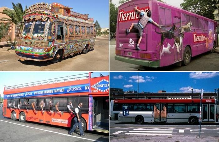 15 необычных автобусов, на которых хочется прокатиться