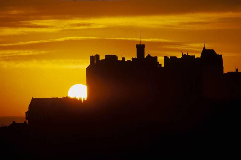 Эдинбургский замок: крепость…