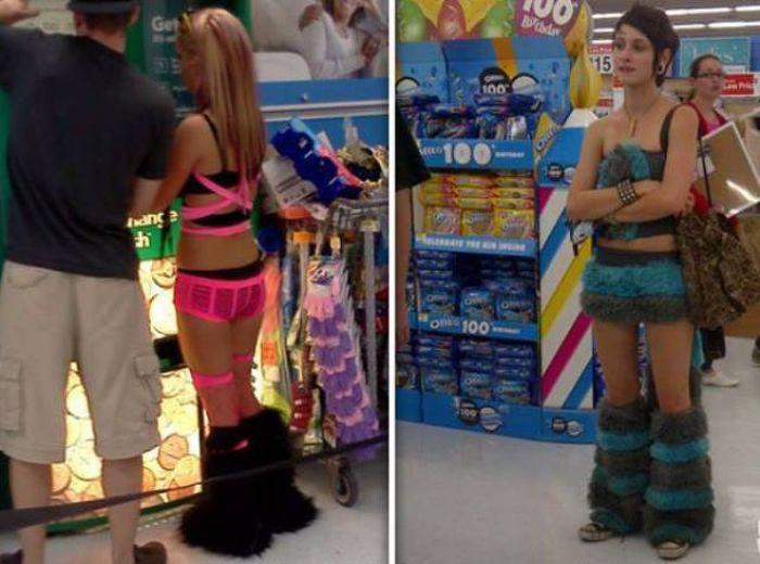 Смешные люди из супермаркетов   (55 убойных фото из одной свободной страны)