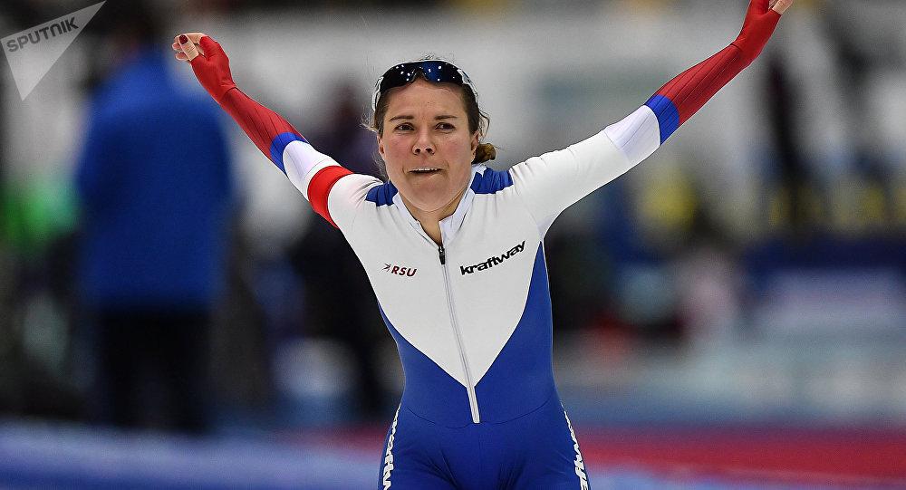 Российская конькобежка Ольга…