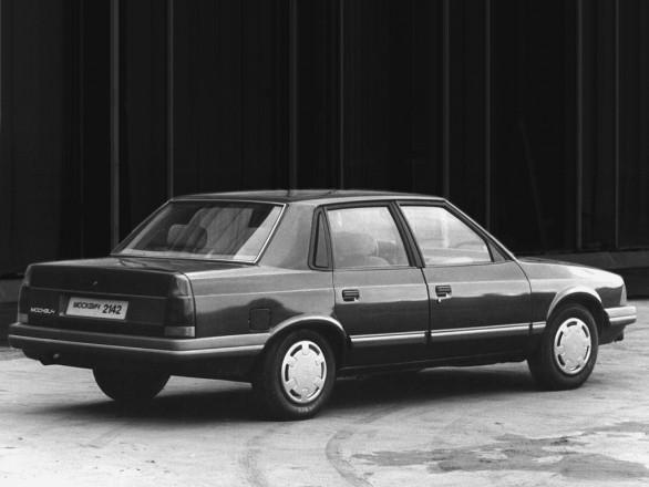 АЗЛК 2142 авто, автомобили, былое, история, машины, ссср