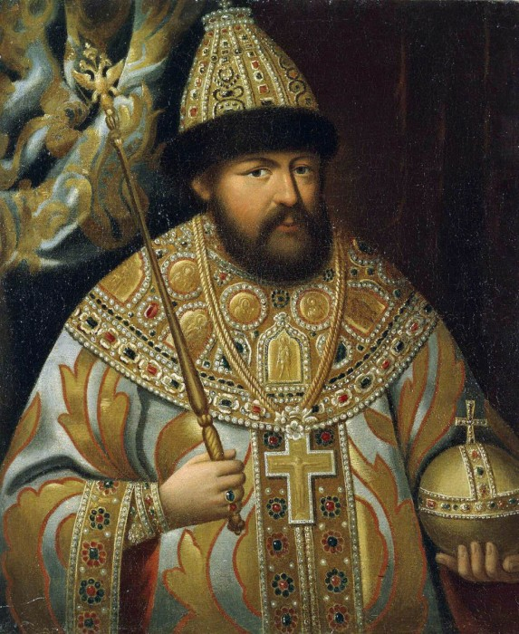 Портрет Царя Алексея Михайловича. | Фото: delaemvmeste.by.