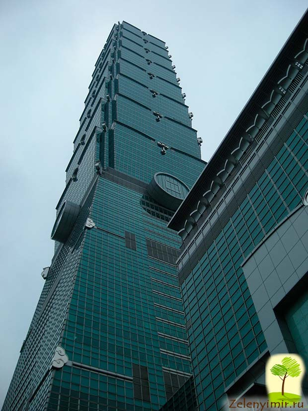 Гигантский небоскреб Тайбэй 101 в Тайване - 10