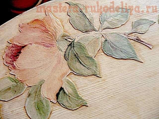 Мастер-класс: Имитация росписи по дереву за 1 час