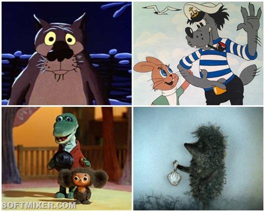 Советские мультфильмы популярные за рубежом
